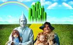 Já em 2015 a família se transportou para O Mundo Mágico de Oz e o resultado foi uma caracterização digna de cinema
