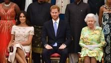 Família real aborda acusações de racismo de Harry e Meghan