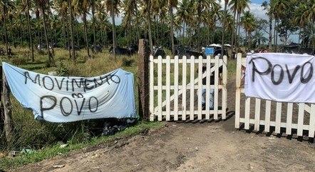Famílias ocupam área improdutiva da Petrobras