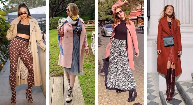 Famosas apostam em casacos alongados (Fotos: Instagram/Reprodução)