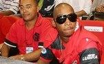 O rapper Ja Rule já foi mais de uma vez ao Maracanã assistir aos jogos do Flamengo em suas diversas passagens pelo Brasil