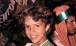 Vanessa da Mata surpreendeu os seguidores ao relembrar um clique fofo de quando era pequena