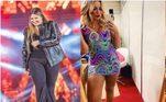 6. Marília MendonçaAinda no mundo do 'feminejo', Marília Mendonça também surpreendeu os fãs após perder mais de 20 kg. Na época, a cantora negou que tivesse realizado cirurgia bariátrica e explicou que a mudança foi feita com dieta e reeducação alimentar