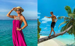 Quem nunca sonhou em um dia visitar as Ilhas Maldivas? Enquanto para muitos esse é um desejo distante, alguns famosos têm aproveitado a