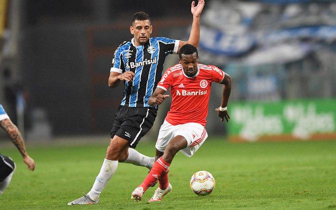 Famosos pela rivalidade que divide o estado, Grêmio e Internacional são patrocinados pelo Banco Banrisul há alguns anos.