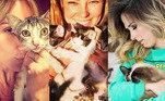 Eles são independentes, geniosos e adoram se espreguiçar em cima de um teclado. No Dia Internacional do Gato, não faltam exemplos de famosos que são apaixonados por felinos. Além da turminha que possuem em casa, eles resgatam animais carentes e ajudam ONGs na divulgação de bichinhos para adoção. Confira!