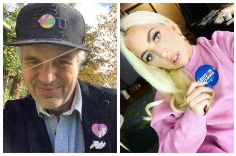Mark Ruffalo e Lady Gaga apoiaram a campanha