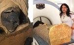Uma tomografia computadorizada revelou que os últimos momentos do faraóSeqenenre Taa II, conhecido como 'O Bravo', foi foram de dor e sofrimento
