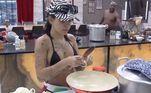 E que tal aprender um novo tipo de farofa para acompanhar aquele churrasquinho de domingo? Mc Mirella arrasou ensinando Pimpolho a fazer uma farofa de cebola com bacon. Veja o passo a passo!