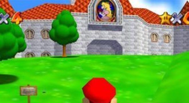 Fãs lançam versão de Super Mario 64 para o Nintendo 3DS