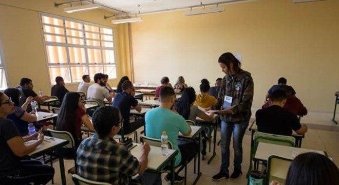 Estudantes devem levar a Declaração de Comparecimento impressa