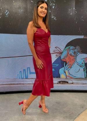"""Fátima Bernardes apresenta o """"Encontro"""" nas manhãs da Globo"""