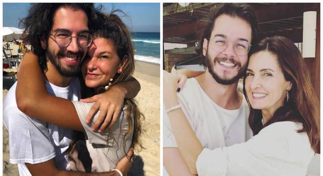 Rodrigo Borges e Cristiana Oliveira; Túlio Gadêlha e Fátima Bernardes