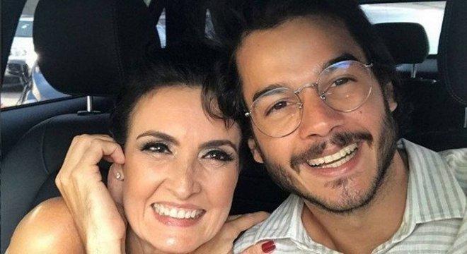 Fátima e Túlio estão juntos desde 2017