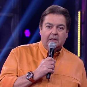 Fausto Silva, camarim zerinho na Band