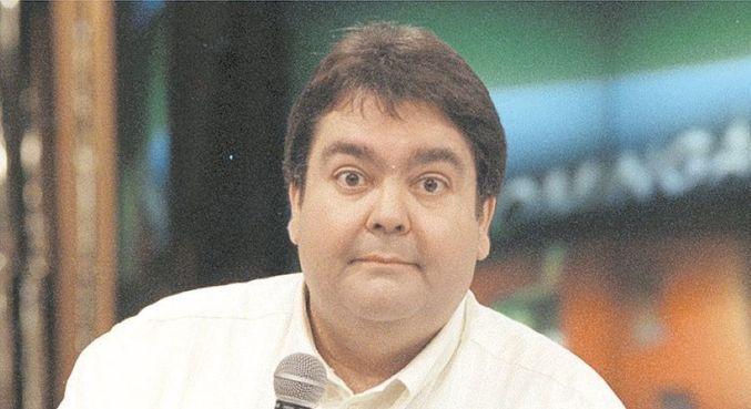 Fausto em 1999, quando o Domingão completou 10 anos de Globo