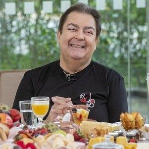 Fausto Silva, em 2022, na Band