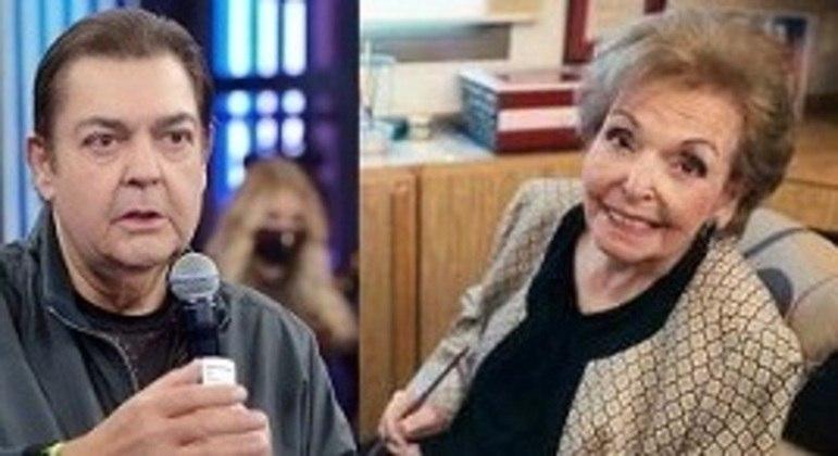 Dona Cordélia, mãe de Fausto Silva, faleceu na noite desta última quarta-feira