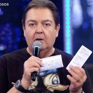 "Fausto Silva no ""Domingão"""