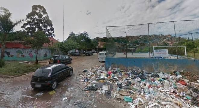 Entrada da favela onde criança teria sido abordada por policiais da Rota