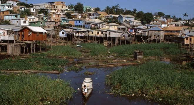 Favela em Manaus, Amazonas