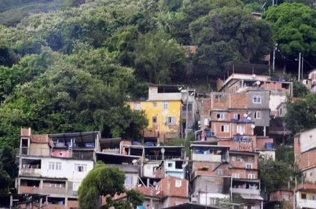 Favela no Rio de Janeiro (RJ)