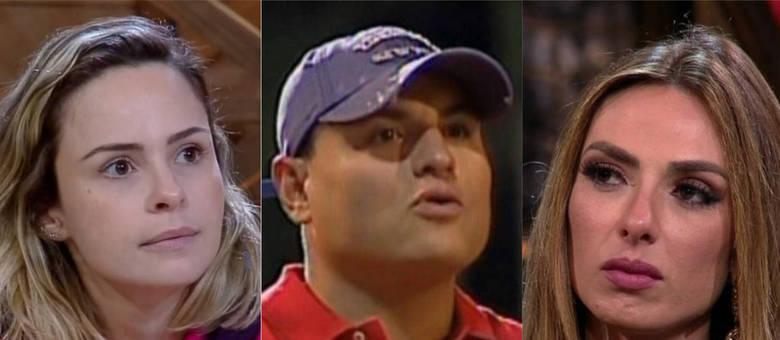Ana Paula Renault, Carlinhos Silva e Nicole Bahls
