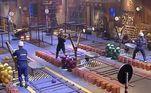 Na semana seguinte, Biel conquistou o chapéu. Na dinâmica disputada com Mateus e Tays, elestiveram deabrir caminho para uma rampa usando um estilingue e, em seguida, levar um carrinho de mão com tijolos para quebrá-los em cima de uma plataforma e erguer uma bandeira com o peso dos pedaços