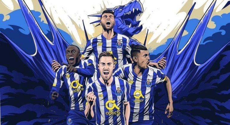 A capa do Twitter do FC do Porto