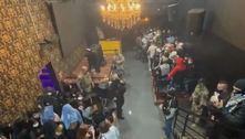 Polícia Civil encerra festa com mais de 100 pessoas em tabacaria de SP