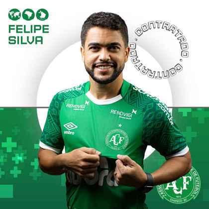 FECHADO - A Chapecoense anunciou o reforço do meia Felipe Silva, que estava no Ceará e chega a Chapecó para defender o Índio Condá em 2021.
