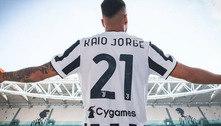 Juventus anuncia a contratação de Kaio Jorge, ex-Santos