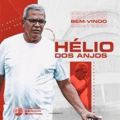 FECHADO - A quarta-feira (18) foi movimentada pelos lados das redes sociais oficiais do Náutico. Depois de anunciar oficialmente a saída do técnico Gilson Kleina, apenas alguns minutos depois se tornou oficial a chegada de Hélio dos Anjos para ocupar o cargo.