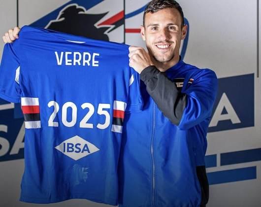 FECHADO - A Sampdoria renovou o contrato de Valerio Verre até a metade de 2025.