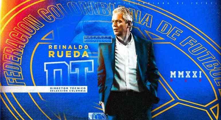 Reinaldo Rueda foi oficializado como técnico da Colômbia