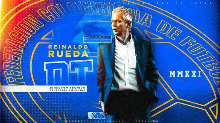 FECHADO - A seleção colombiana anunciou que Reinaldo Rueda é o mais novo comandante da seleção do país.