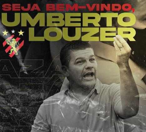 FECHADO - Agora é oficial. O Sport anunciou nesta quinta-feira a chegada do técnico Umberto Louzer, que estava no comando da Chapecoense.