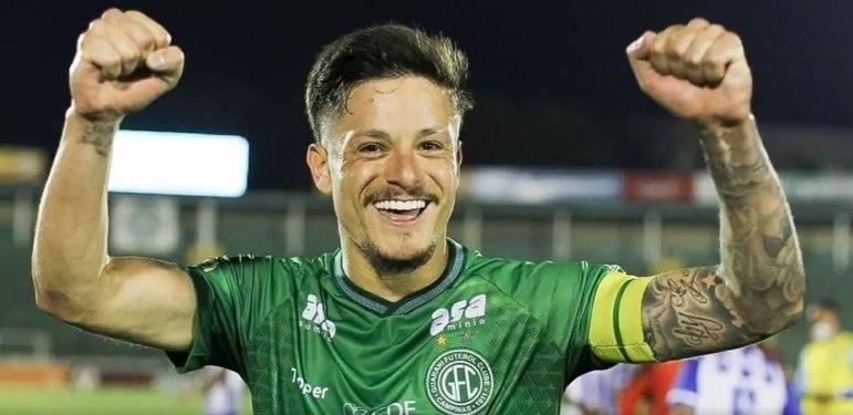 FECHADO - Ainda na briga contra o rebaixamento, o Fortaleza começa a planejar a temporada 2021 e anunciou a contratação do meia Lucas Crispim, que estava no Guarani.