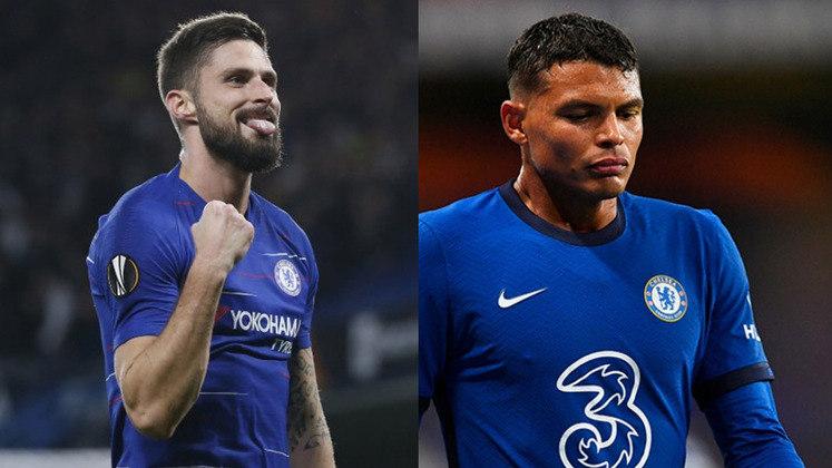 FECHADO - Além do treinador, o zagueiro Thiago Silva e o atacante Olivier Giroud ampliaram seus contratos com o Chelsea até 2022. O clube optou por ativar a cláusula de renovação automática com os dois jogadores.