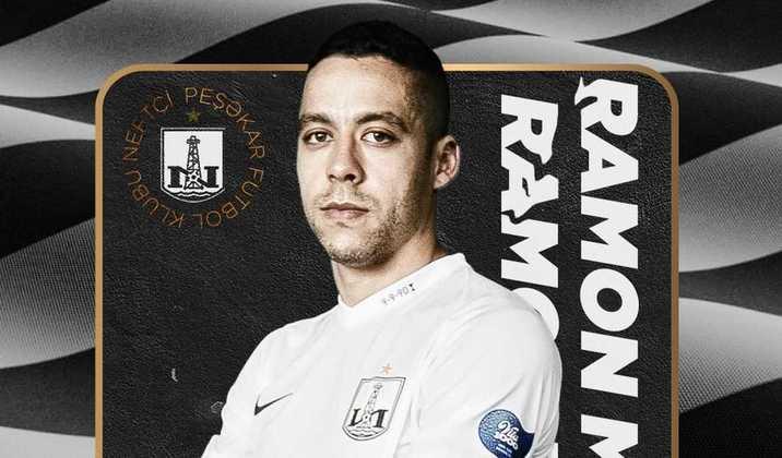 FECHADO - Após defender o Brasil de Pelotas na Série B do Brasileirão, o atacante Ramon foi anunciado como novo reforço do Neftchi Baku, atual campeão da Liga do Azerbaijão e nove vezes vencedor nacional, para a temporada de 2021/2022.