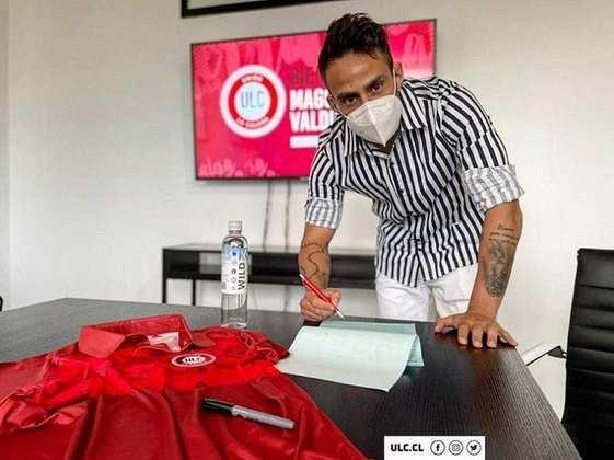 FECHADO - Após ficar livre no mercado, o meia Valdívia, ex-Palmeiras, acertou a sua ida para o Unión La Calera.