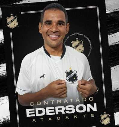 FECHADO - Após passagem pelo Fortaleza nas duas últimas temporadas, o atacante Éderson já tem novo destino para 2021. O jogador, que também atuou no Athletico, vai defender as cores do ABC novamente. Feliz com a volta, o atleta falou sobre o desejo de fazer um grande ano no clube.