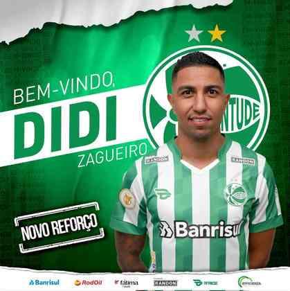 FECHADO - Após término de contrato com a Ferroviária próximo ao fim do Campeonato Paulista, Didi acertou sua transferência para o Juventude nesta segunda-feira (7). O zagueiro de 30 anos assinou vínculo com o Jaconero até 10 de dezembro de 2021 e defenderá a equipe no Campeonato Brasileiro 2021.