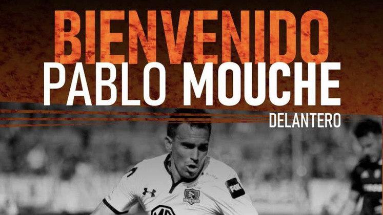 FECHADO - Após uma passagem tumultuada pelo Colo-Colo, Pablo Mouche já tem um novo clube. Aos 33 anos, ele acertou com o Sud América, do Uruguai.