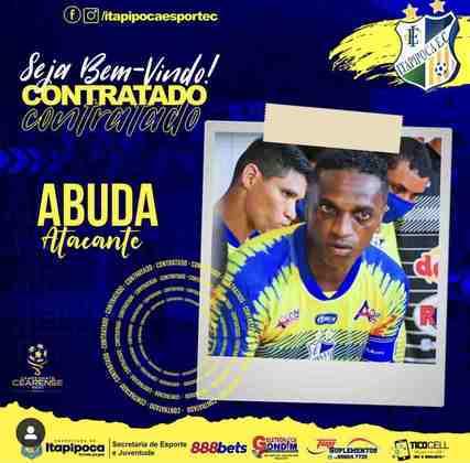 FECHADO - Atacante veterano, Abuda, retorna ao Itapipoca para disputar a Série B do Campeonato Cearense 2021.
