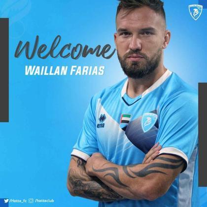 FECHADO: Com direito a gafe no seu nome no anúncio, o volante Willian Farias assinou com o Hatta Club, dos Emirados Árabes, para a próxima temporada. Ele estava no Sport.