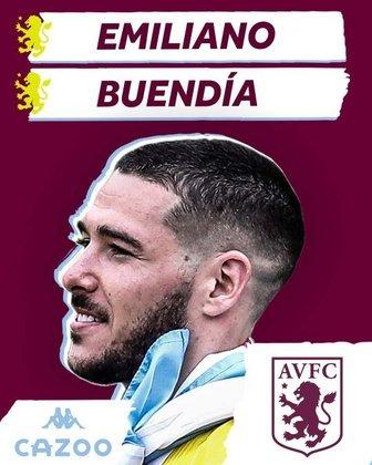 FECHADO - Com o negócio fechado há alguns dias entre o Aston Villa e o Norwich City, Emiliano Buendía é o mais novo reforço da equipe de Birmingham. O Arsenal era cotado para contratar o meia mas não conseguiu competir nos valores.