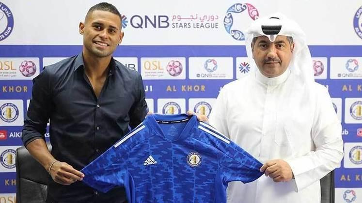 FECHADO - Com passagem por Flamengo, Fluminense e Santos, o atacante Kayke está de casa nova no Qatar. Após atuar por Qatar SC e Umm-Salal, do mesmo país, o brasileiro acertou com o Al-Khor e irá para sua terceira temporada no local da próxima Copa do Mundo.