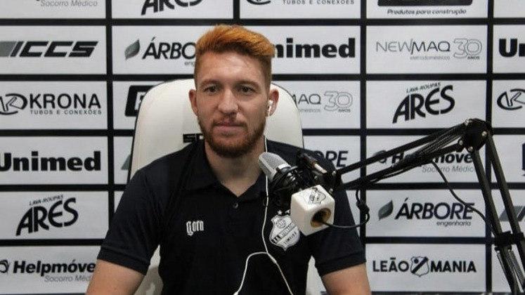 FECHADO - Com passagens pela Ponte Preta, Corinthians, CRB e CSA, o volante Ferrugem assinou com a Inter de Limeira para disputar o Campeonato Paulista de 2021.
