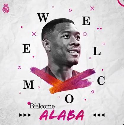 FECHADO - David Alaba é do Real Madrid. Aos 28 anos, o defensor, que estava no Bayern de Munique, foi anunciado pelo clube merengue nesta sexta-feira. Ele chega em fim de contrato e assina por cinco temporadas.